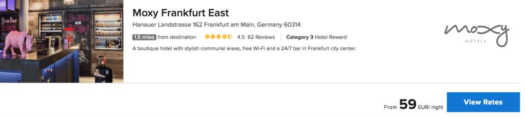 moxy frankfurt