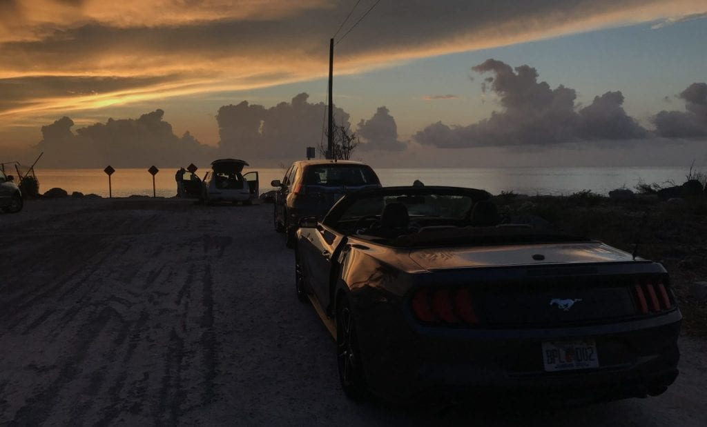 mustang cabrio key largo florida