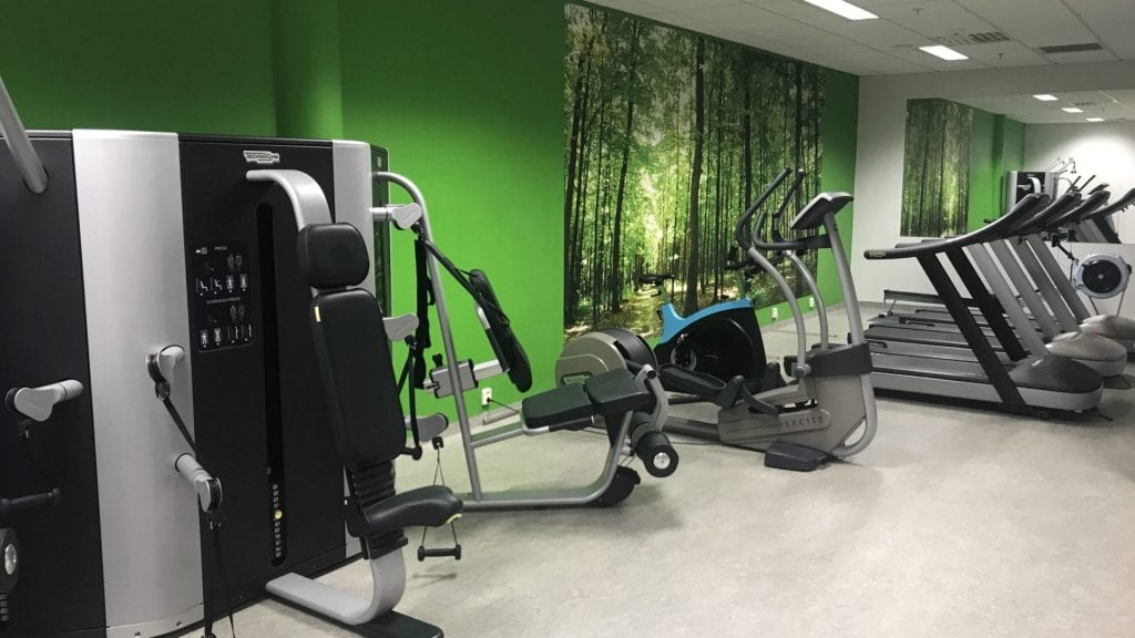 park inn oslo airport gym 2