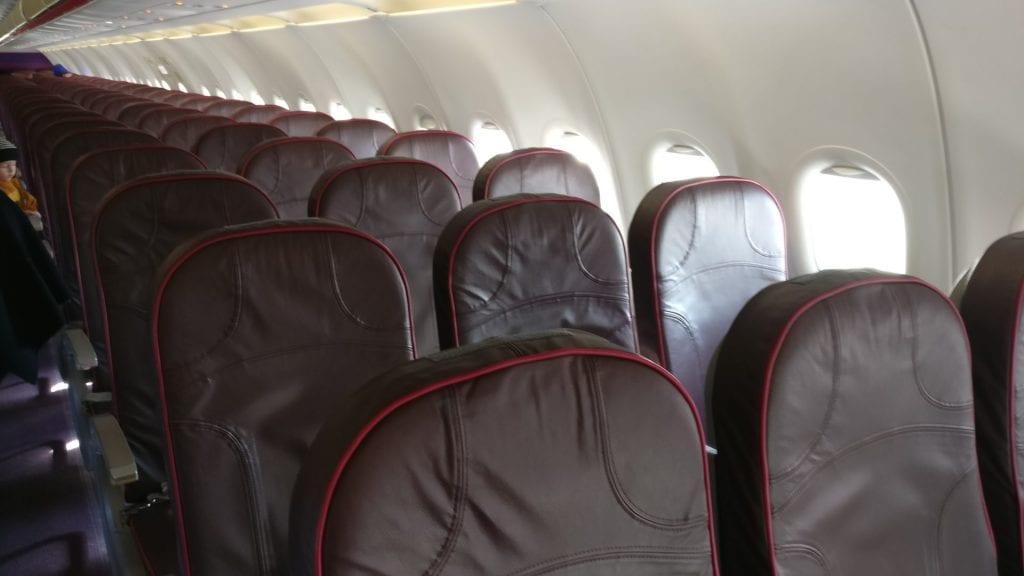 wizz air a320 kabine 2