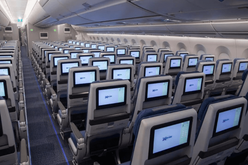 20181122 Air China A350 Economy