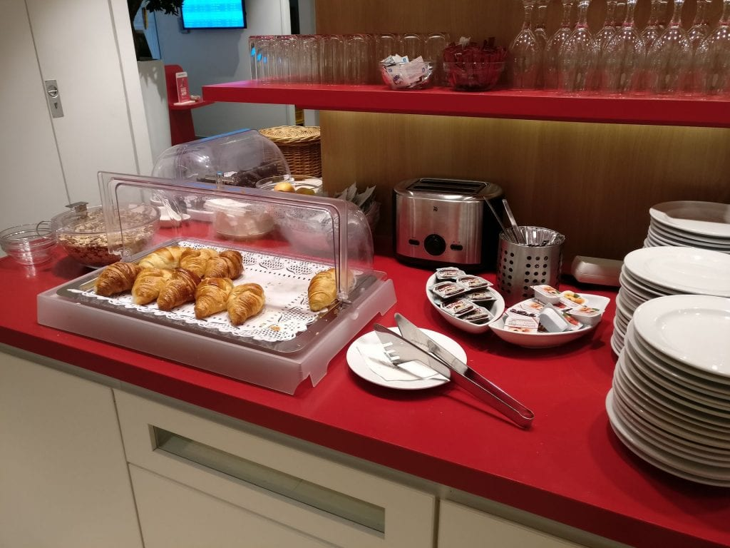 Air France Lounge München Buffet 4