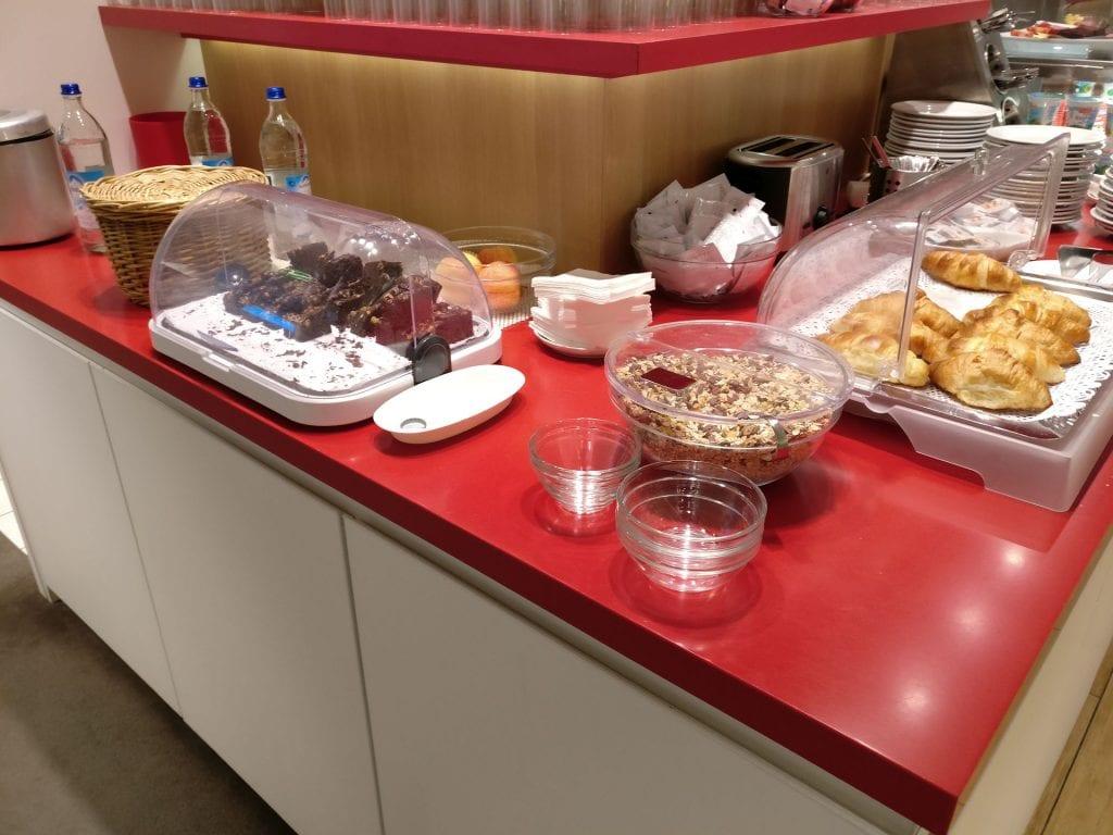 Air France Lounge München Buffet 5