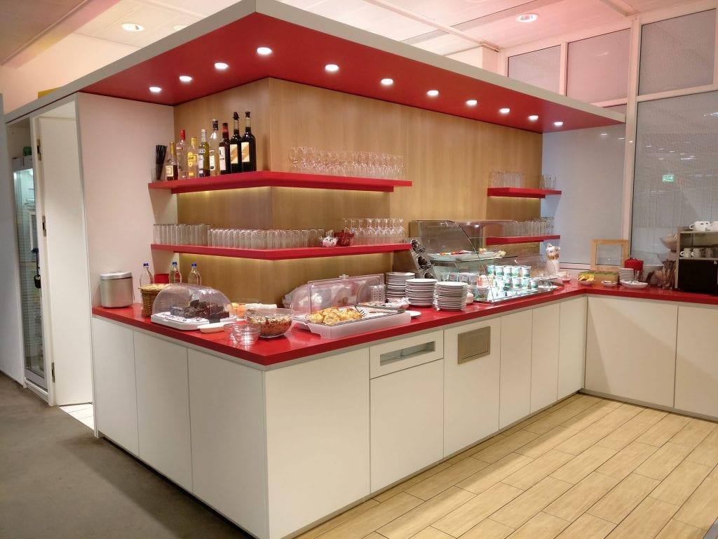 Air France Lounge München Buffet 7