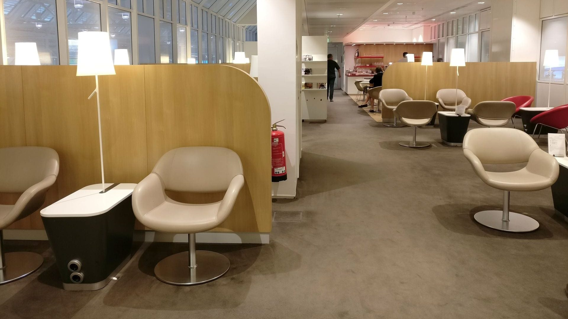 Air France Lounge München Layout
