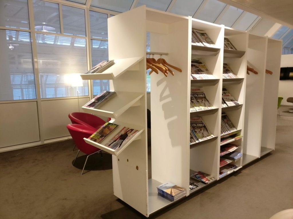 Air France Lounge München Zeitungen