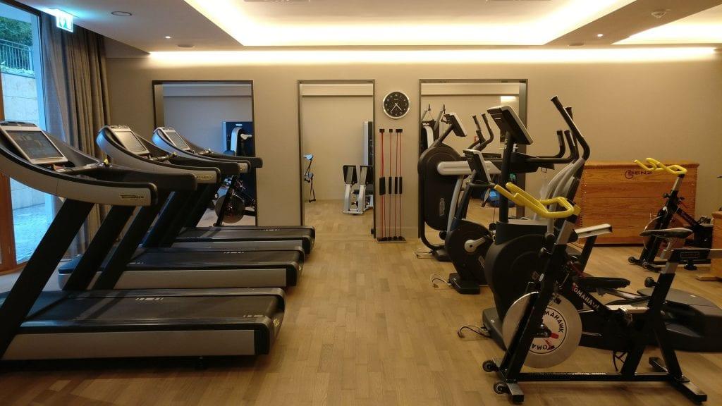 Althoff Seehotel Überfahrt Fitness