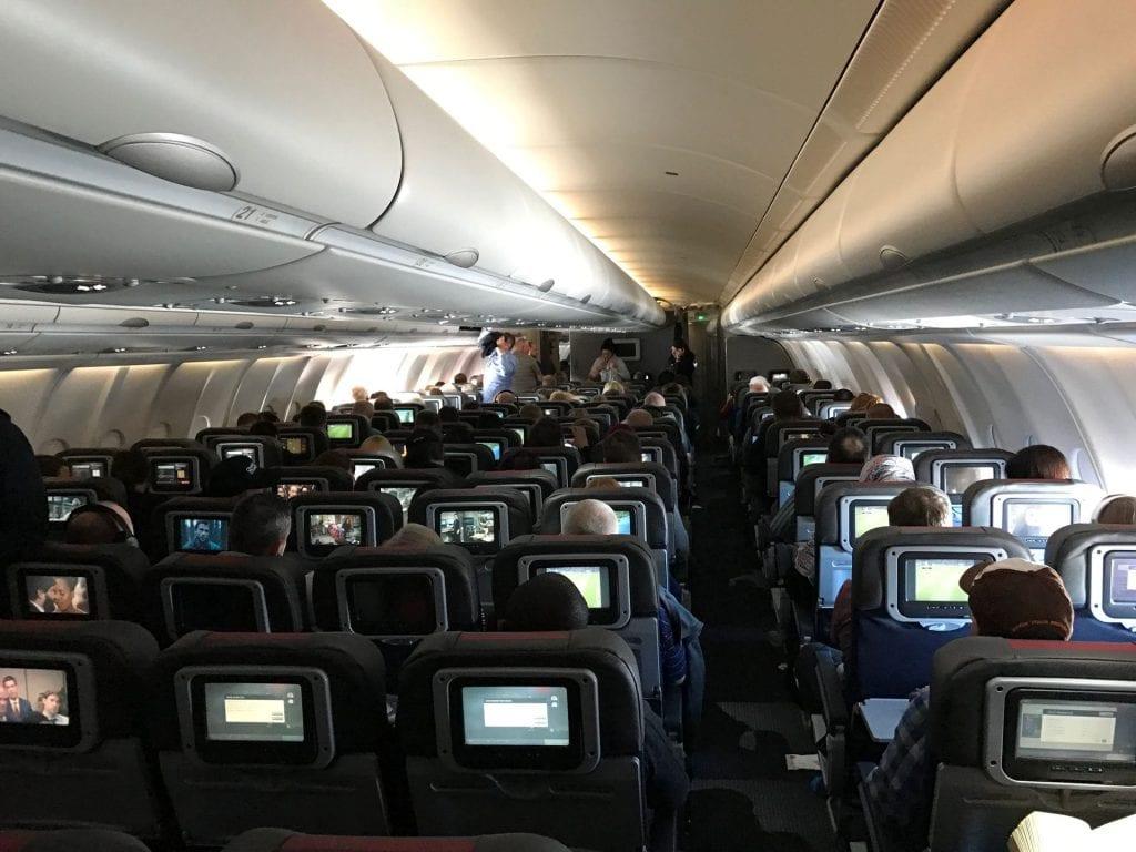 American Airlines Langstrecke Kabine 2