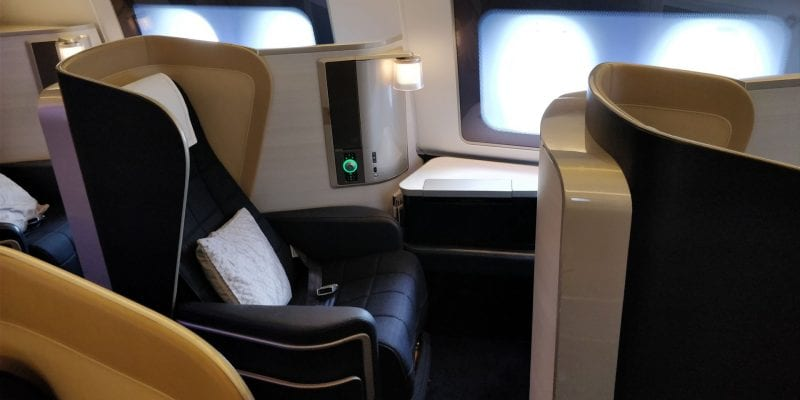 British Airways First Class Boeing 777 Einzelsitz Sitz