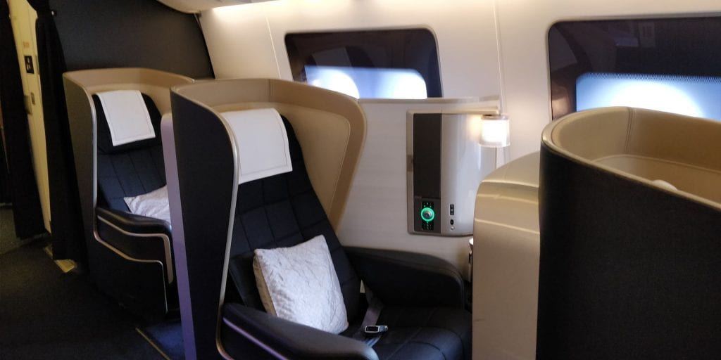 British Airways First Class Boeing 777 Einzelsitze