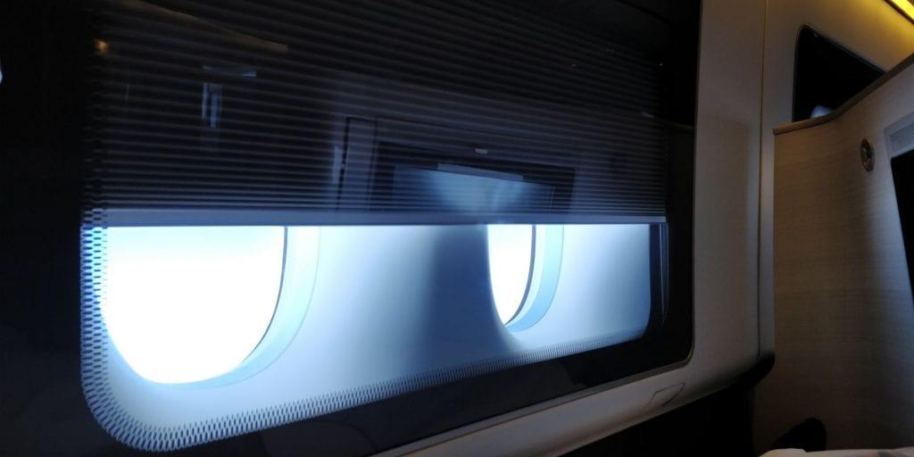 British Airways First Class Boeing 777 Fenster