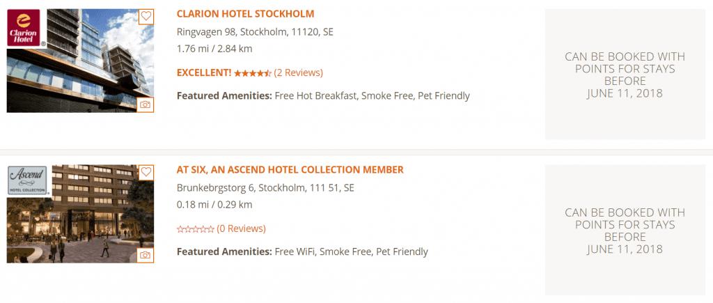 Choice Stockholm Beispiel 2