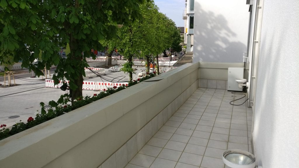 Colombi Hotel Freiburg Deluxe Room Balkon