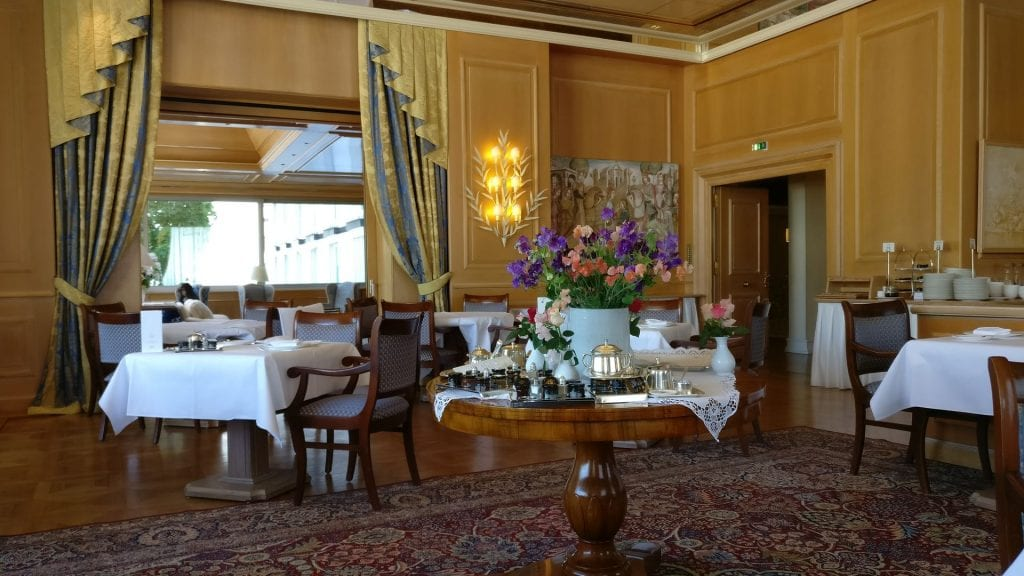 Colombi Hotel Freiburg Frühstück