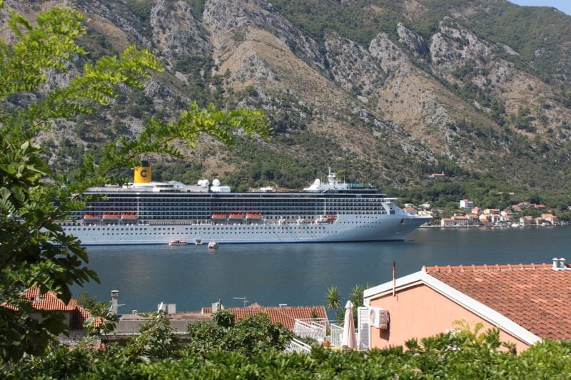 Costa Mediterranea in Kotor