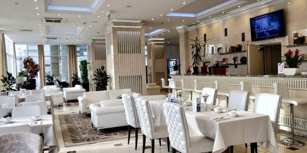 Crowne Plaza Moskau World Trade Centre Club Lounge