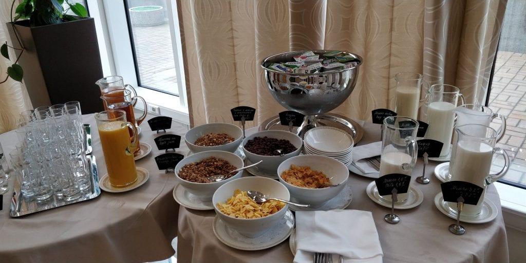 Crowne Plaza Moskau World Trade Centre Frühstück Buffet 1