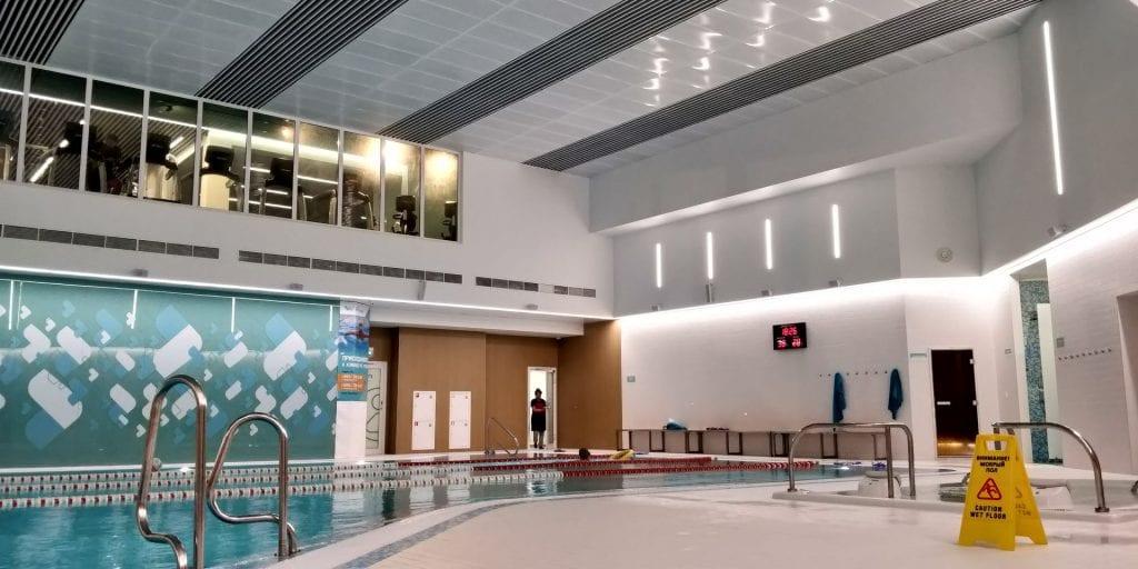 Crowne Plaza Moskau World Trade Centre Schwimmbad
