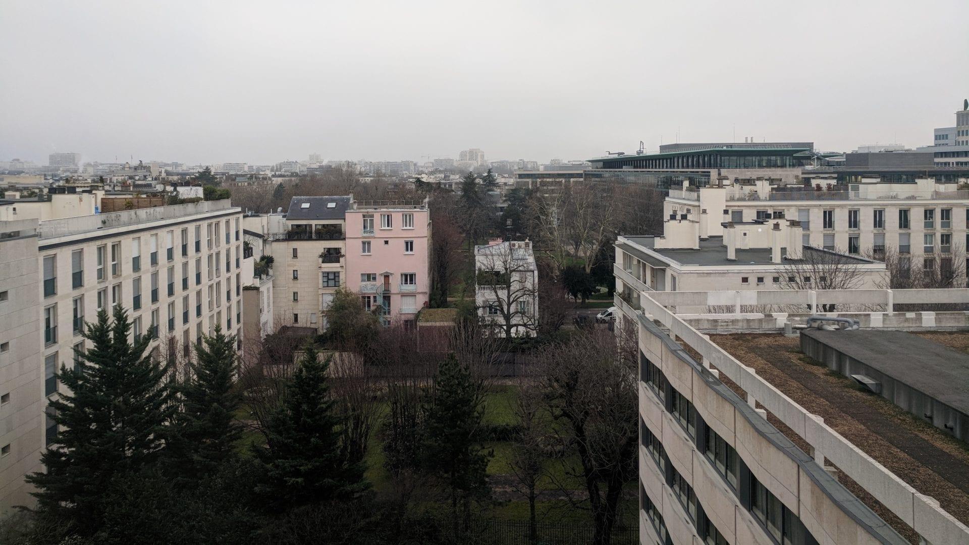 Crowne Plaza Paris Neuilly Ausblick