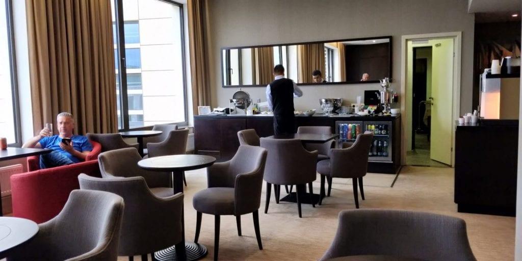 DoubleTree Moskau Marina Executive Lounge