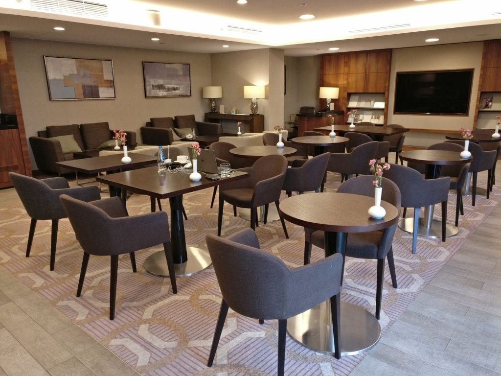 DoubleTree Warschau Convention Centre Lounge 2