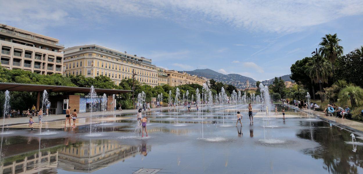 Europa Frankreich Nizza Sommer