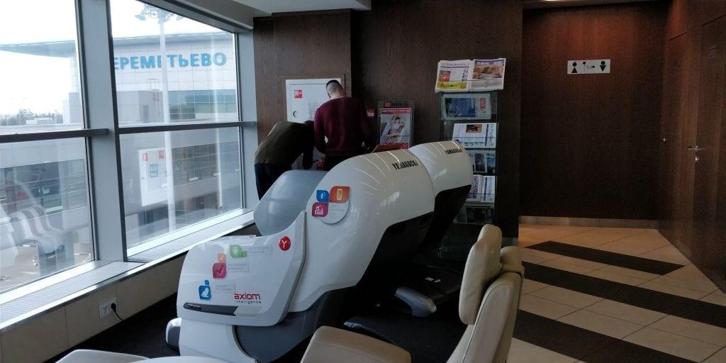 Gallery Lounge Moskau Massagesessel