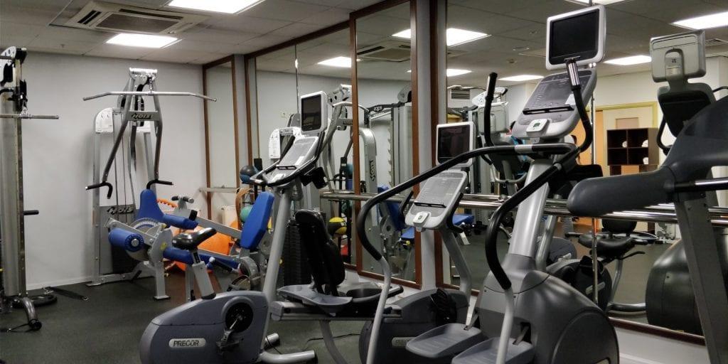 Hilton Moskau Leningradskaya Fitnessstudio Gym