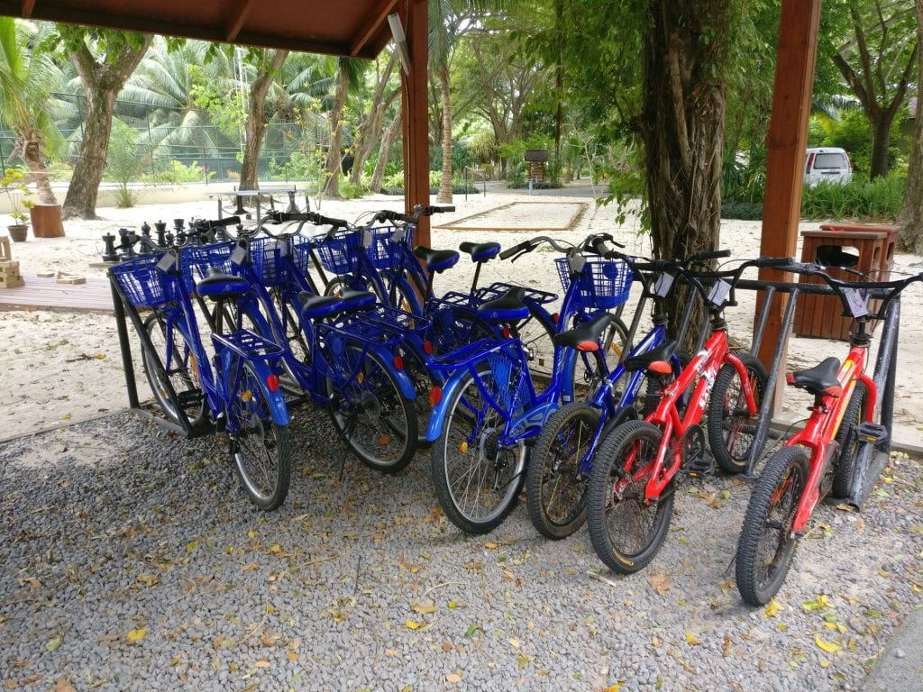 Hilton Seychelles Labriz Resort Bikes