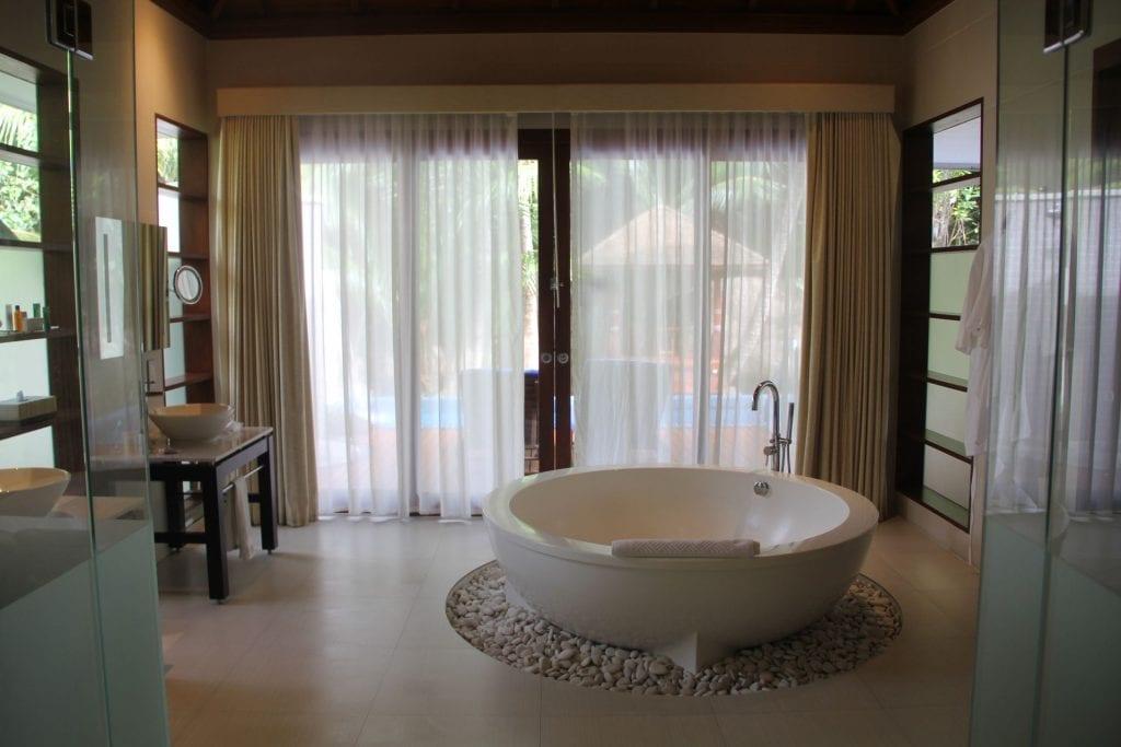 Hilton Seychelles Labriz Resort Deluxe Hillside Pool Villa Bathroom 6