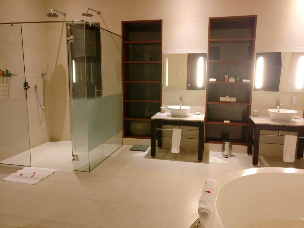 Hilton Seychelles Labriz Resort Deluxe Hillside Pool Villa Bathroom 7 11