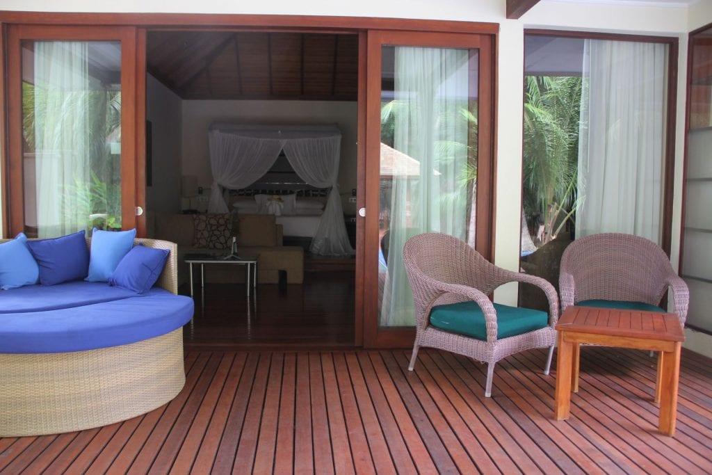 Hilton Seychelles Labriz Resort Deluxe Hillside Pool Villa Garden 2