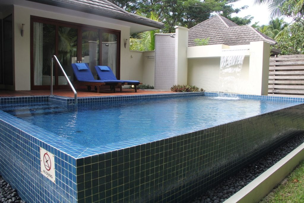 Hilton Seychelles Labriz Resort Deluxe Hillside Pool Villa Garden 3