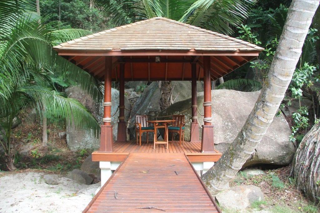 Hilton Seychelles Labriz Resort Deluxe Hillside Pool Villa Garden 4