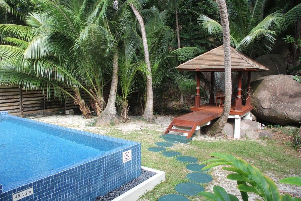 Hilton Seychelles Labriz Resort Deluxe Hillside Pool Villa Garden 7