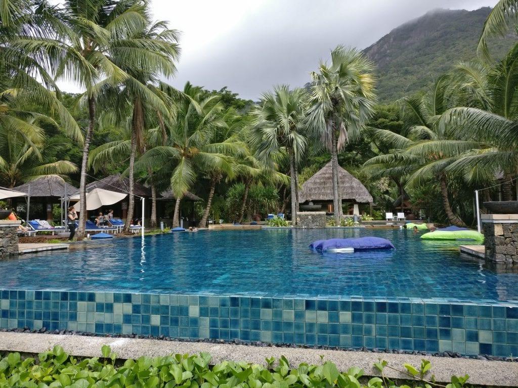 Hilton Seychelles Labriz Resort Main Pool