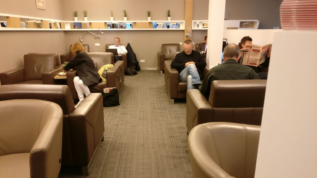 LOT Elite Lounge Warschau Layout