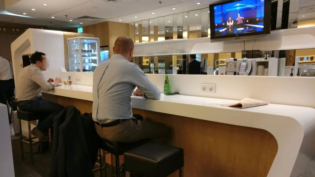 LOT Elite Lounge Warschau Layout 3