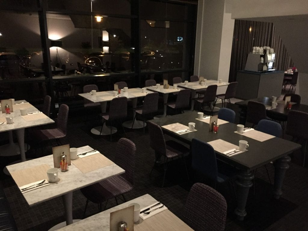 Marriott Den Haag Frühstücksraum