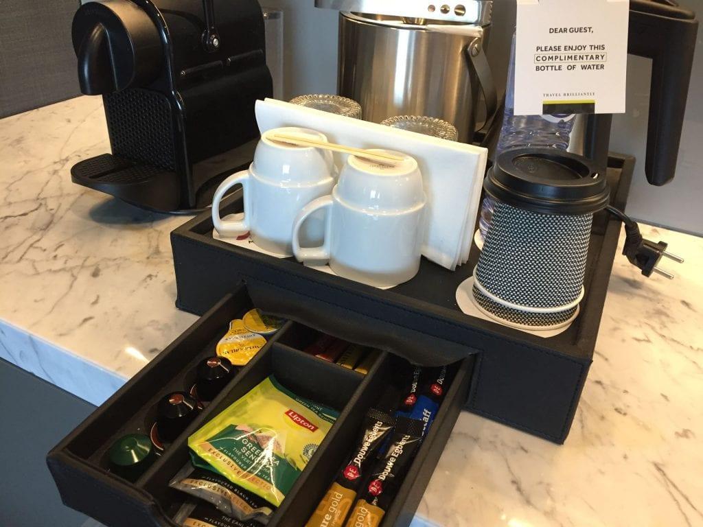Marriott Den Haag Junior Suite Kaffee und Tee