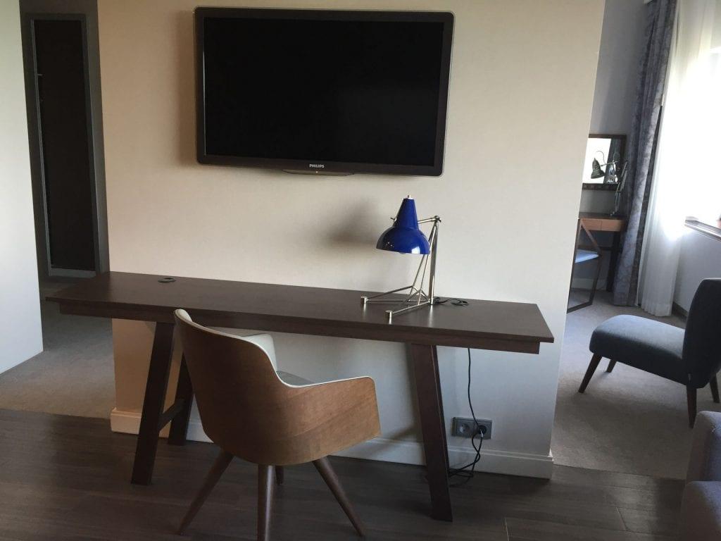 Marriott Den Haag Junior Suite Wohnzimmer 2
