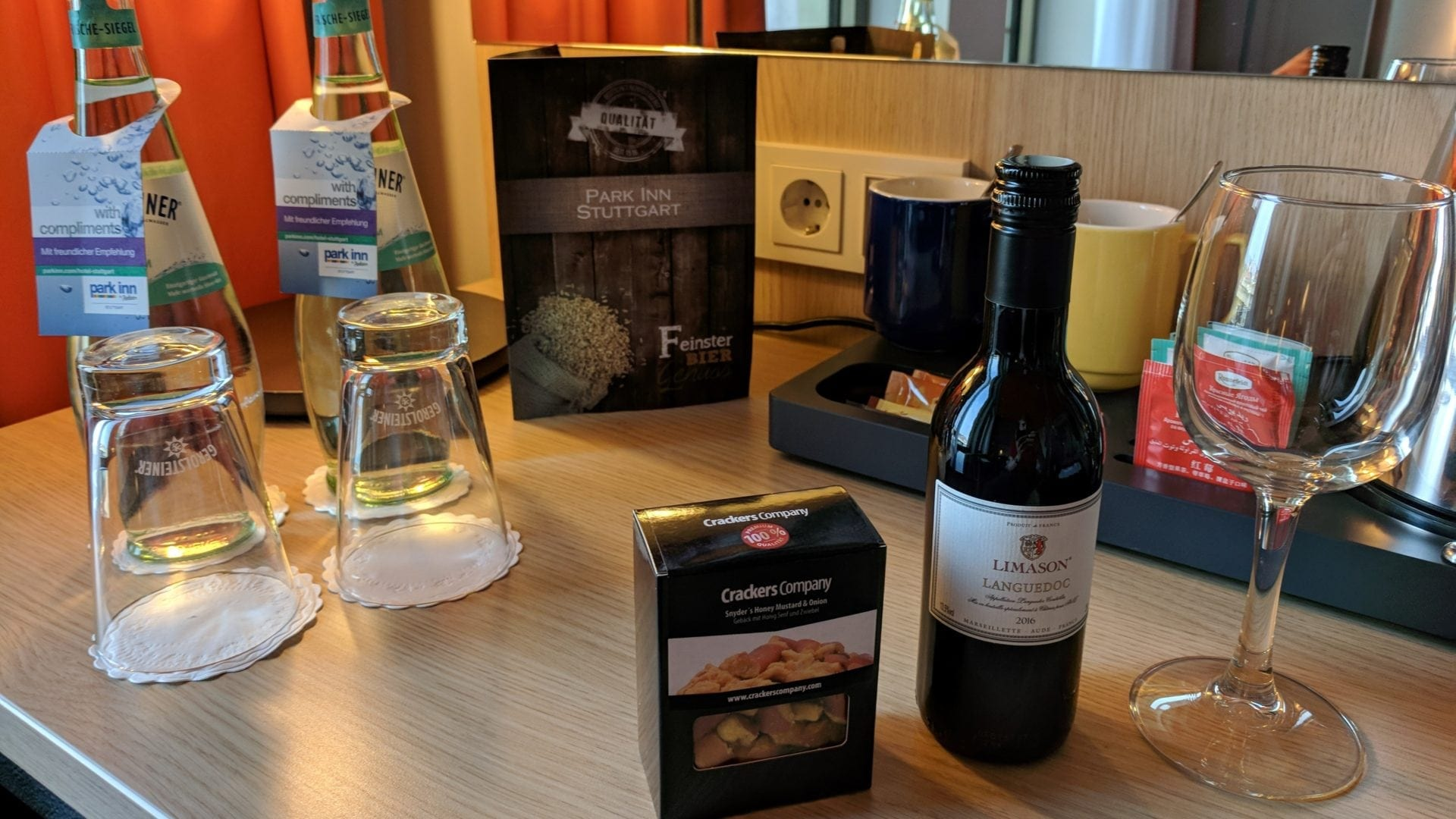 Park Inn Stuttgart Welcome Treatment