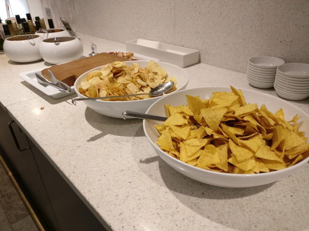 SAS Gold Lounge Oslo Buffet 10