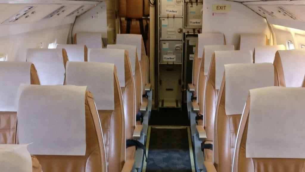 VLM Airlines Sitze