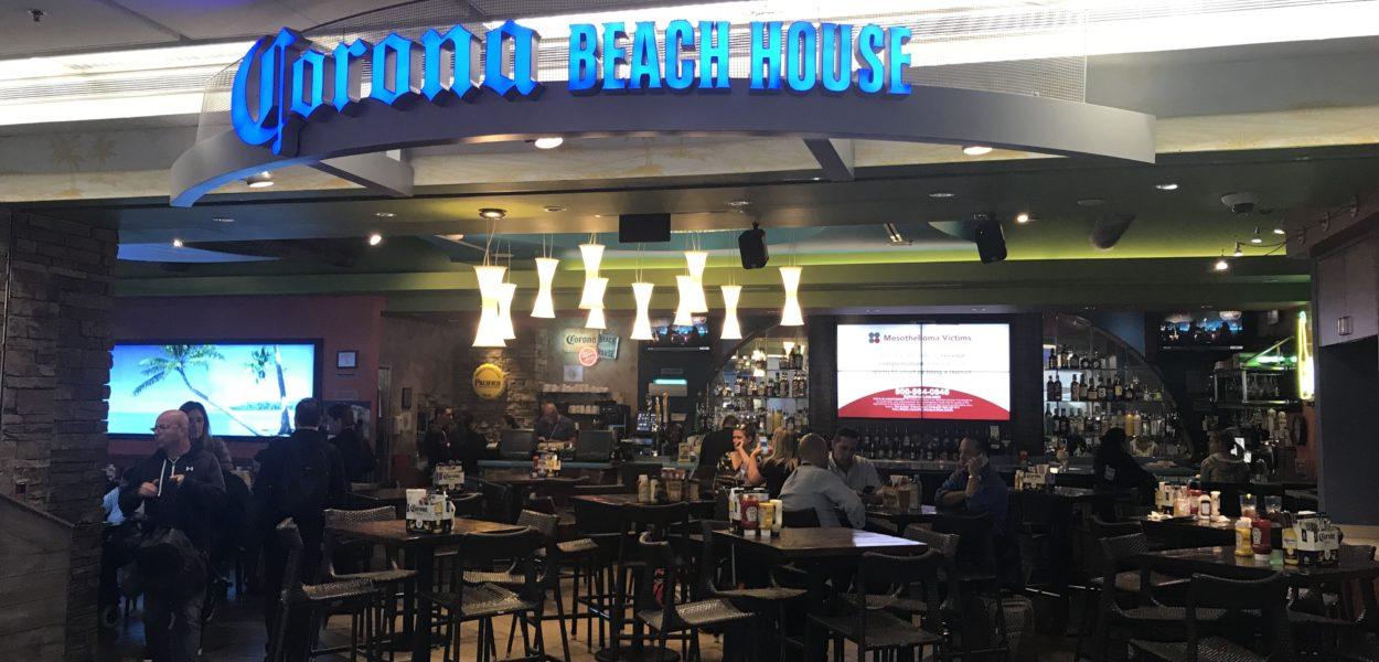 corona beach house miami airport priority pass restaurant