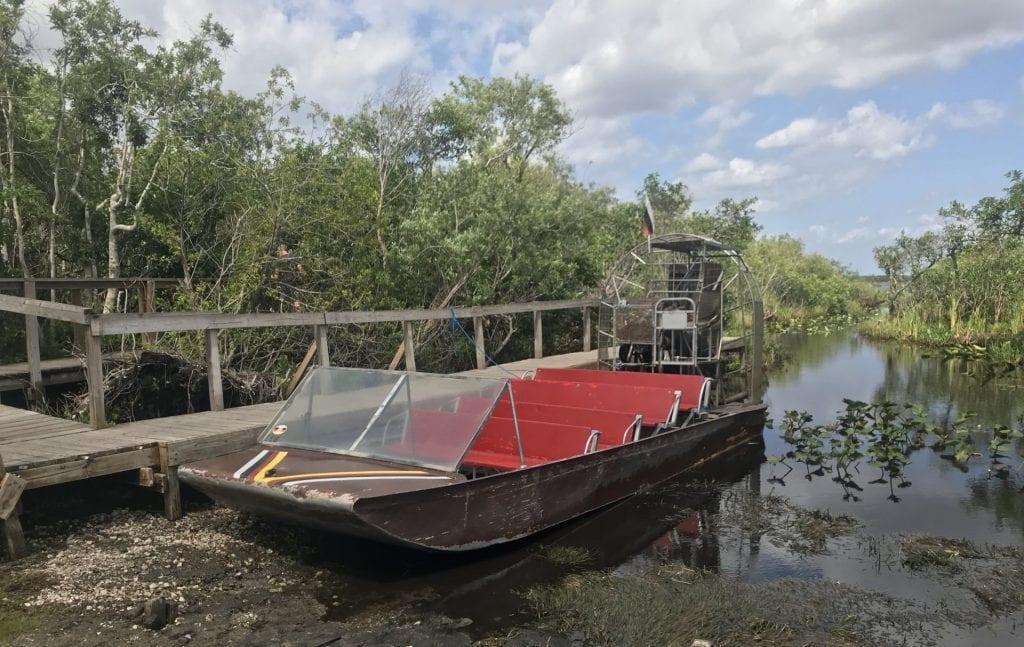 everglades national park sumpfboot
