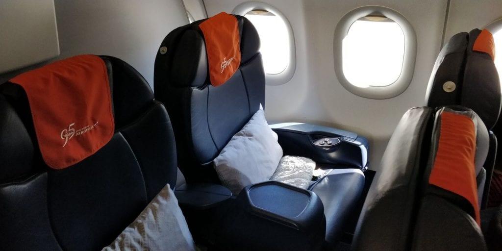 Aeroflot Business Class Airbus A320