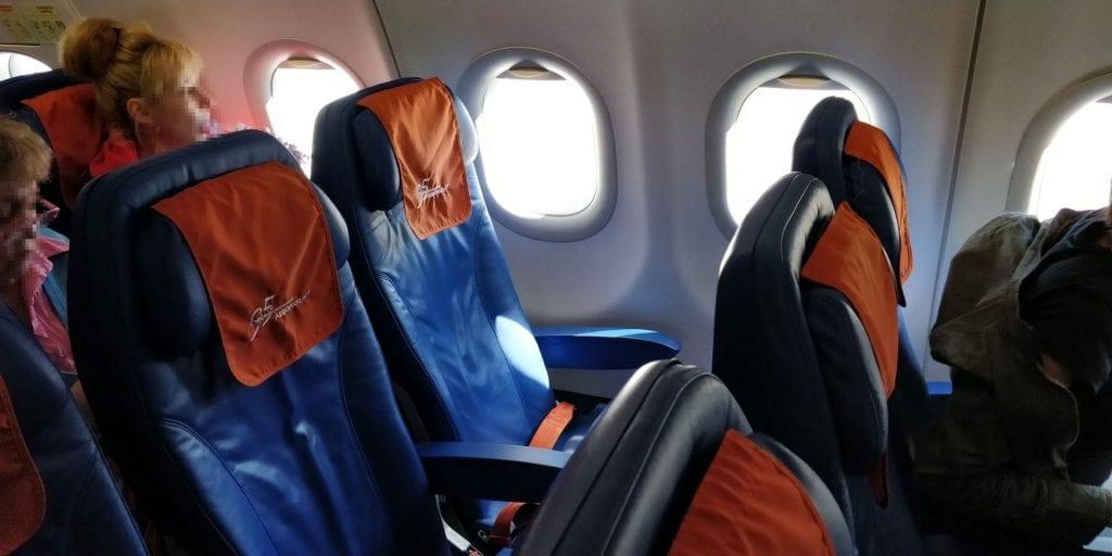 Aeroflot Economy Class Airbus A320