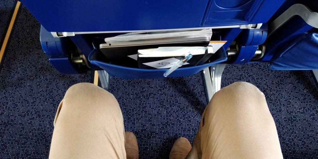 Aeroflot Economy Class Airbus A320 Sitzabstand