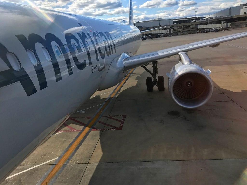 American Airlines Kurzstrecke Boarding 2